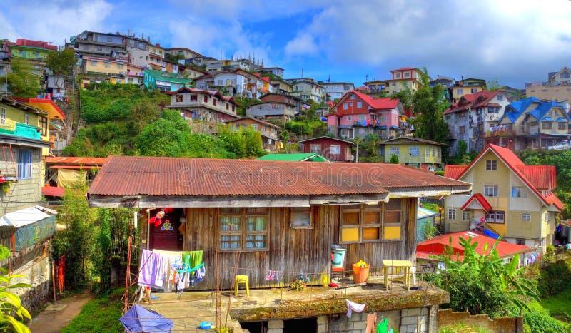 HDR Baguio Cuty, Filipinas fotografia de stock royalty free