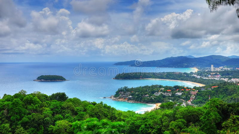 Download HDR Of Bays And Island In PHuket Stock Image - Image: 15143733