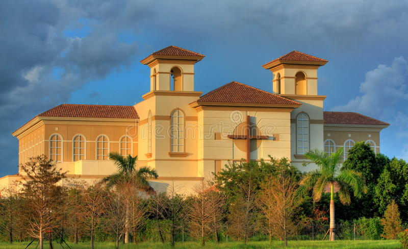 Download HDR-Church In South Florida Stock Photo - Image: 21044730