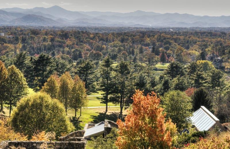 HDR d'automne à Asheville photographie stock libre de droits