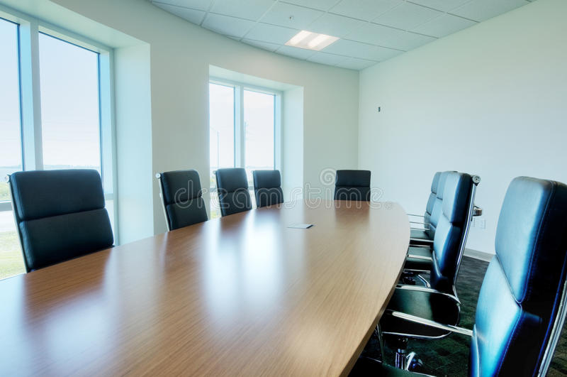 HDR da sala de reuniões foto de stock royalty free