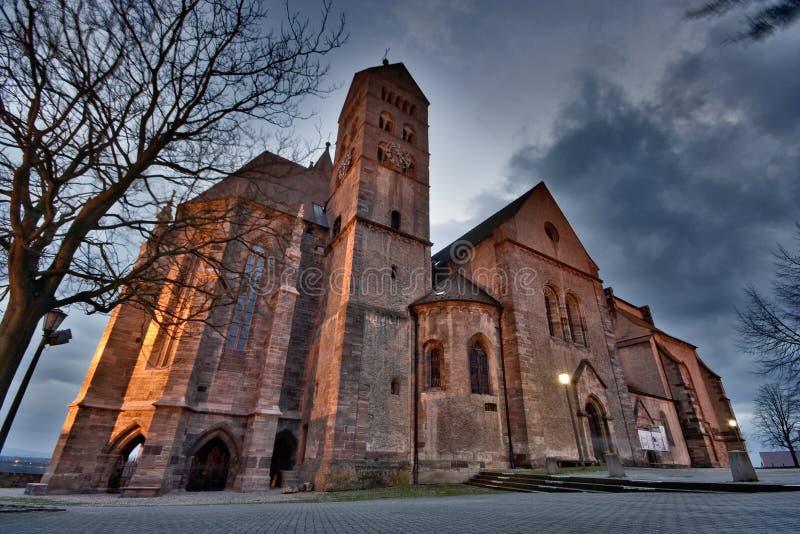 Hdr de la iglesia de Breisach imagen de archivo
