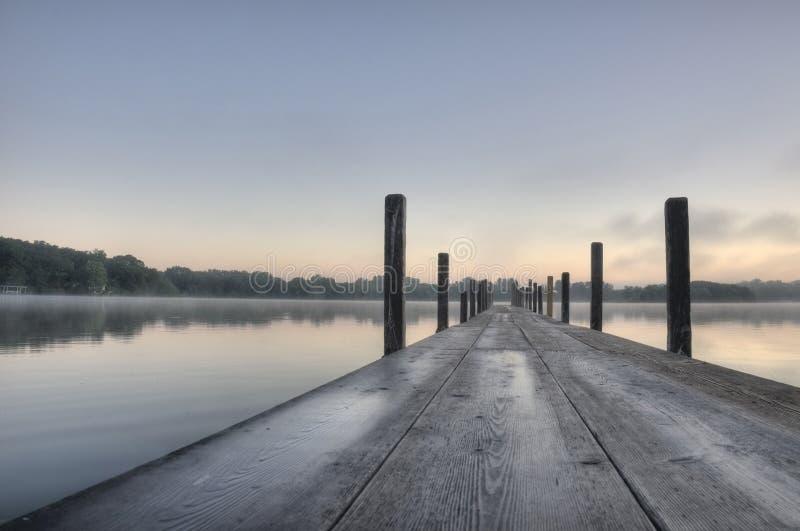 HDR del lago Okoboji fotografie stock libere da diritti