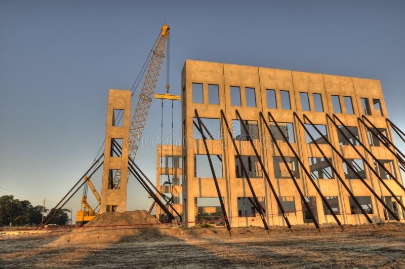 HDR des Aufbaus des neuen Gebäudes lizenzfreie stockfotos