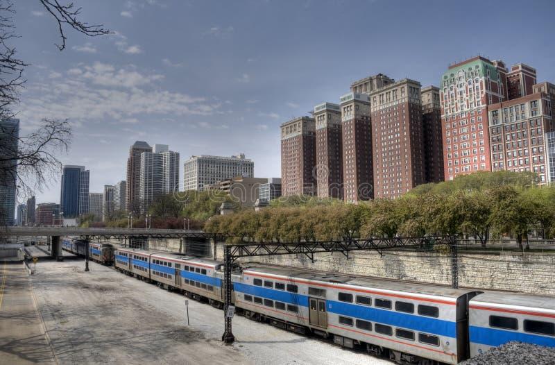HDR di Chicago fotografia stock libera da diritti