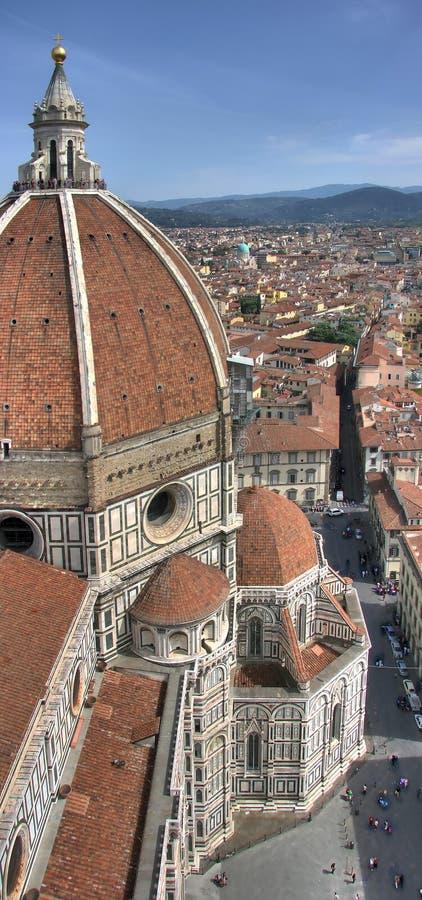 Hdr di pano del Duomo di Firenze fotografie stock libere da diritti