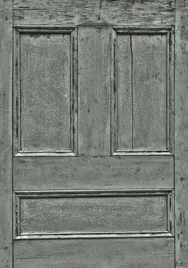 HDR szczegółu drewniany drzwiowy â trzeszczący dyszy zdjęcia stock