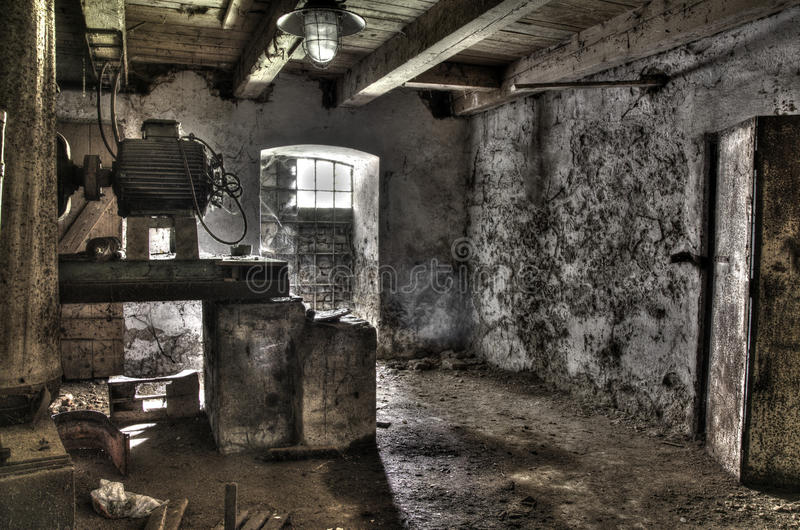 HDR equipment of mill stock photo