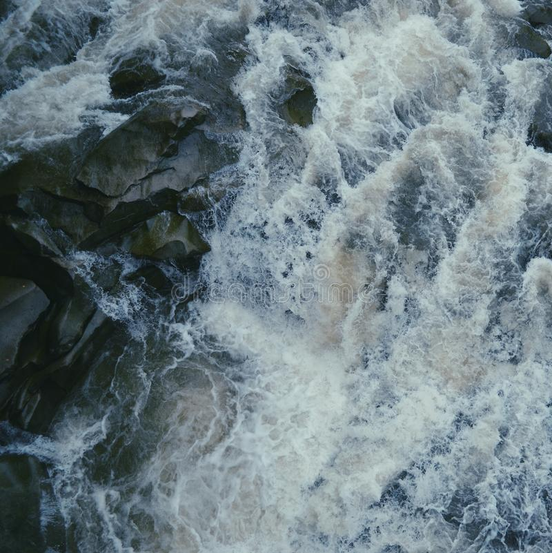 3 hdr górskiej zdjęć panoramy rzeka pionowe obraz royalty free