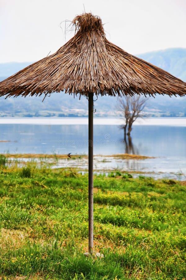HDR image of Dojran lake, Macedonia royalty free stock photos