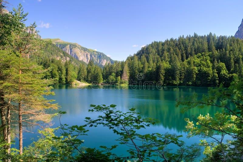 hdr jeziora tovel obrazy stock