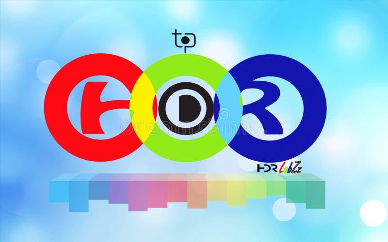 HDR LabZz商标 图库摄影
