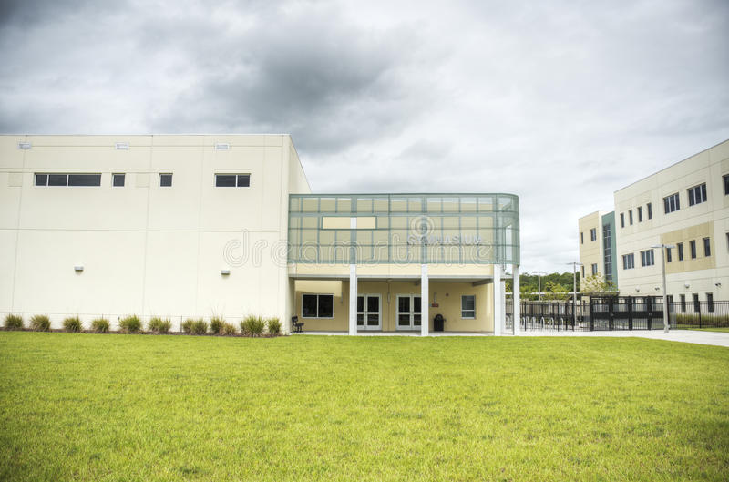Download HDR Of Middle School Gymnasium Stock Image - Image: 25491583
