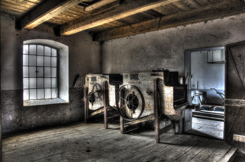 HDR old mill royalty free stock photos