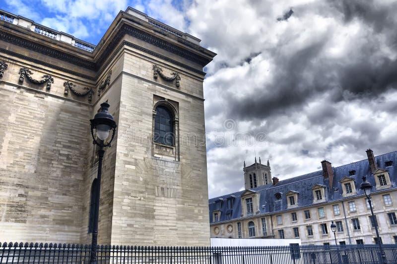 hdr pantheon Παρίσι στοκ φωτογραφία