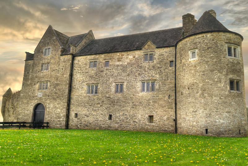 HDR Of Parkes Castle Stock Photography
