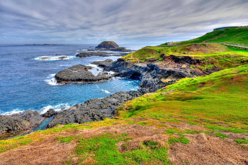 Download HDR Of Phillip Island Coastal Area Stock Photo - Image: 10175900