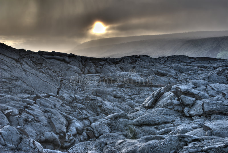 HDR photo of Lava Field