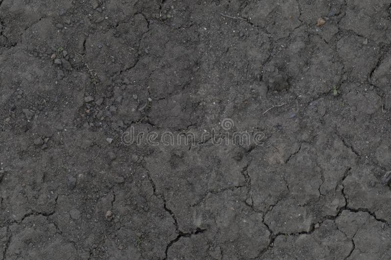 HDR Seamless texture of dirt. HDR Seamless texture of very dry dirt with small stones on it royalty free stock image