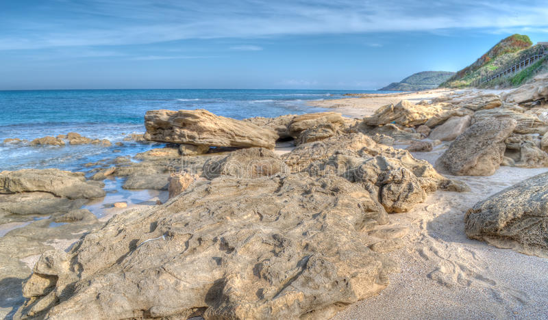 Hdr Seascape Stock Image