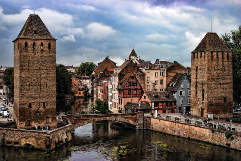 HDR Straatsburg stock fotografie