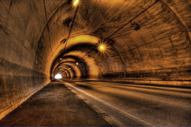 hdr tunnel στοκ εικόνες