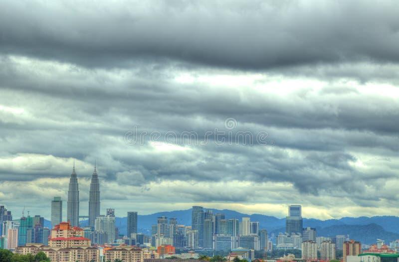 Download Kuala Lumpur City Showing Petronas Twin Towers Royalty Free Stock Image - Image: 28365966