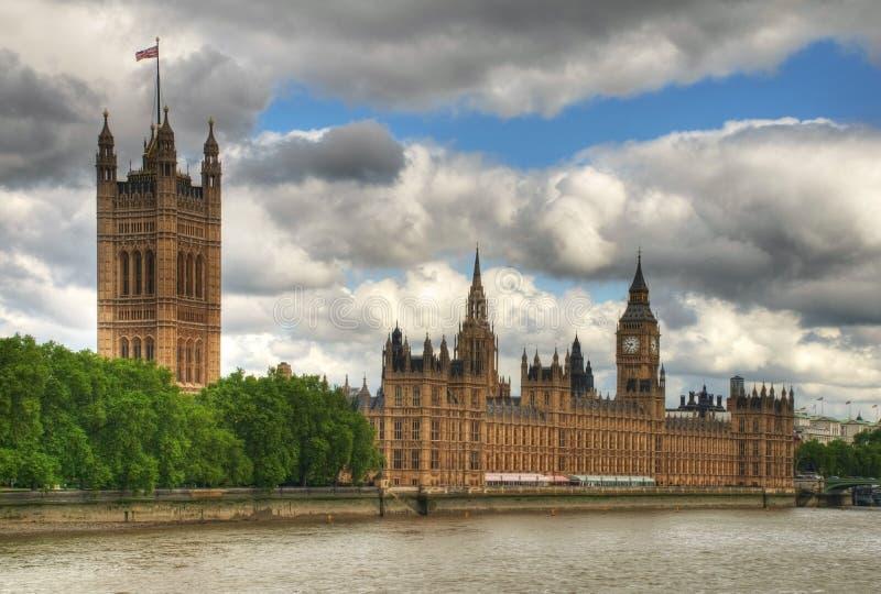 HDR Westminster foto de stock