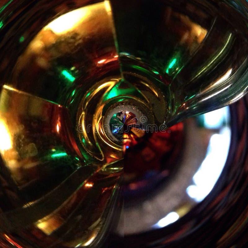 HDRI地图,迪斯科玻璃纹理,环境 库存图片