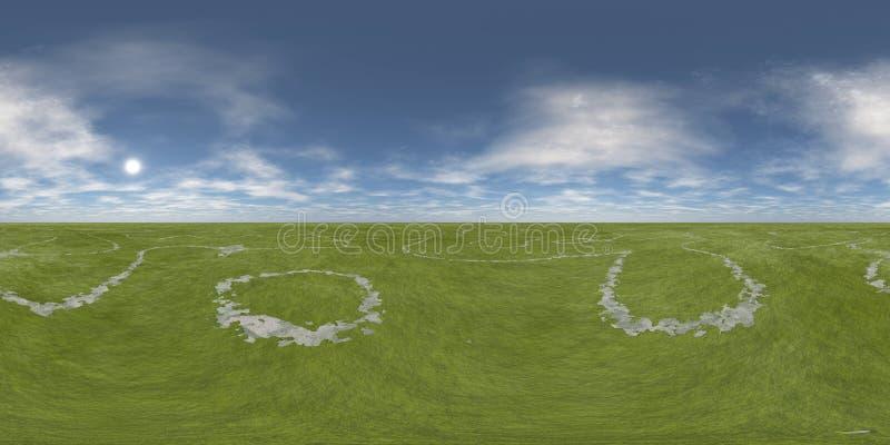 HDRi 环境地图 免版税库存图片