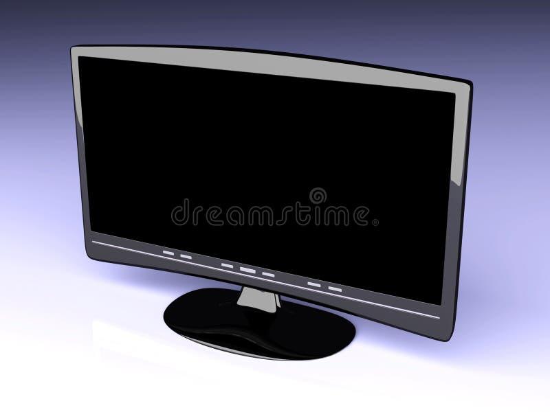Download HDTV stock illustration. Image of show, monitor, electronics - 12472584