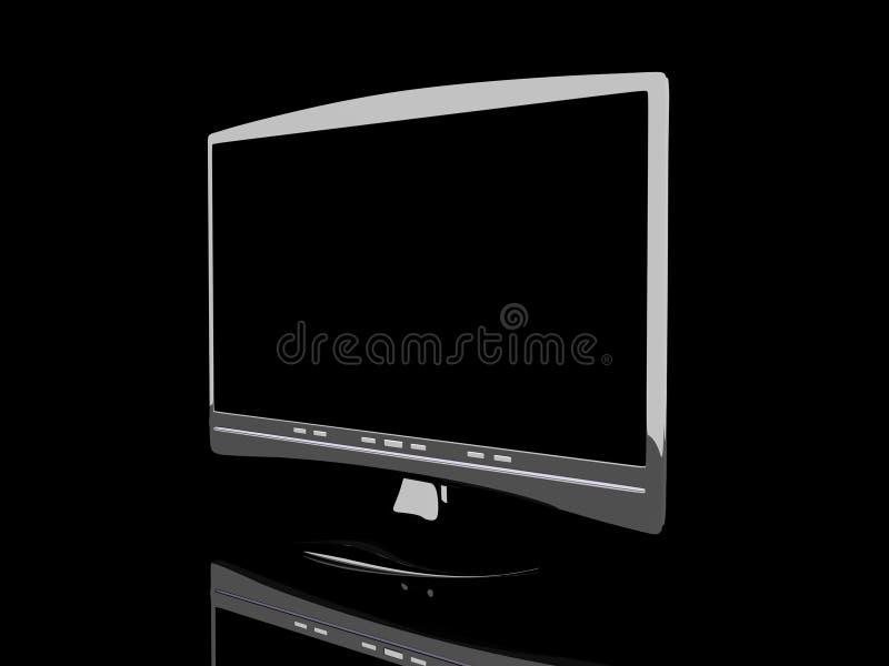 HDTV ilustração stock