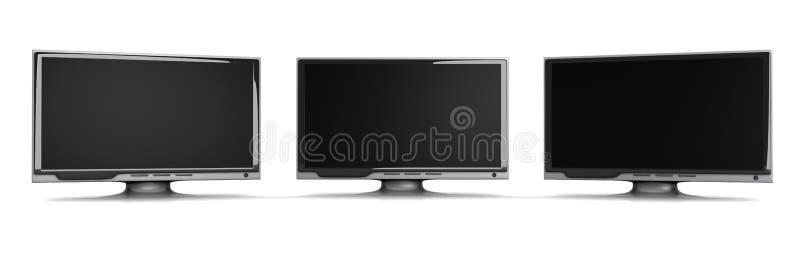 HDTV line vector illustration