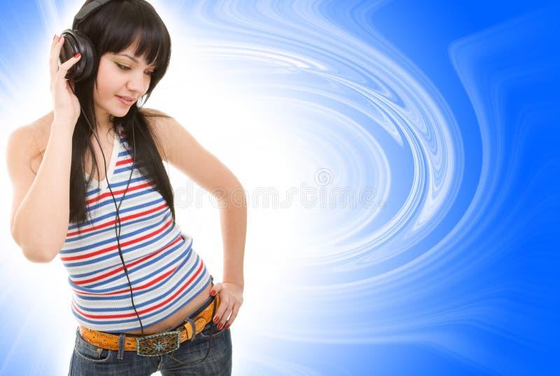 hełmofonów kobiety potomstwa fotografia stock