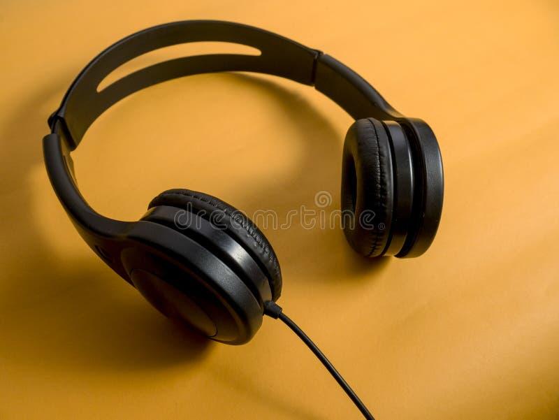 Hełmofon dla muzyka dźwięka obrazy royalty free