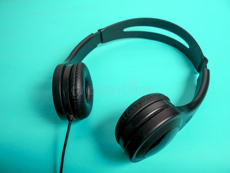 Hełmofon dla muzyka dźwięka zdjęcia royalty free