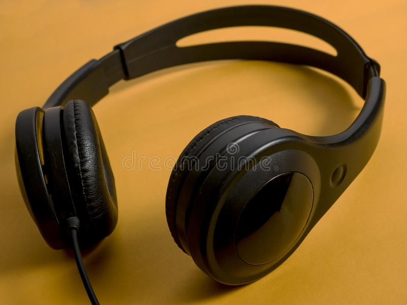 Hełmofon dla muzyka dźwięka zdjęcie royalty free