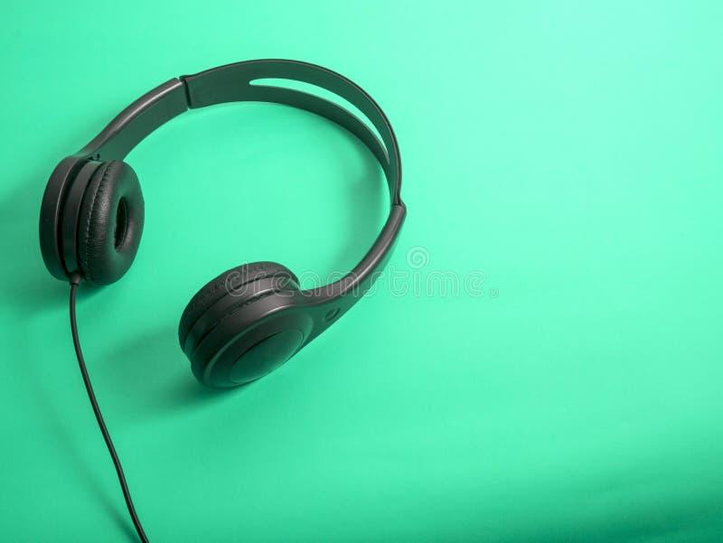 Hełmofon dla muzyka dźwięka zdjęcie stock