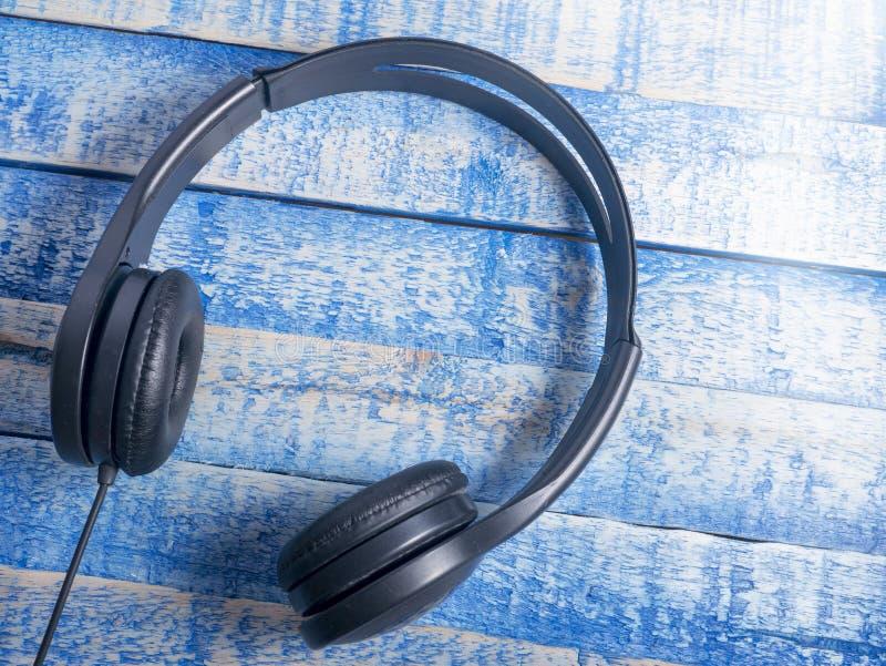 Hełmofon dla muzyka dźwięka fotografia stock
