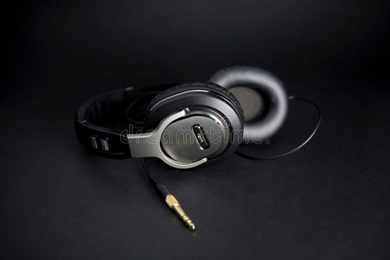 hełmofony stereo zdjęcia stock
