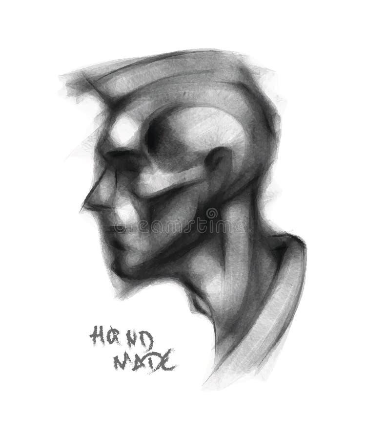 Download Head stock vector. Image of computer, decoration, pencil - 28518656