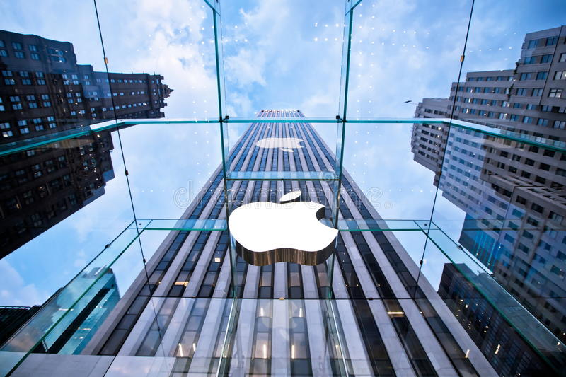 Download Head Apple Store On Fifth Avenue In New York Editorial Image - Image: 27149870