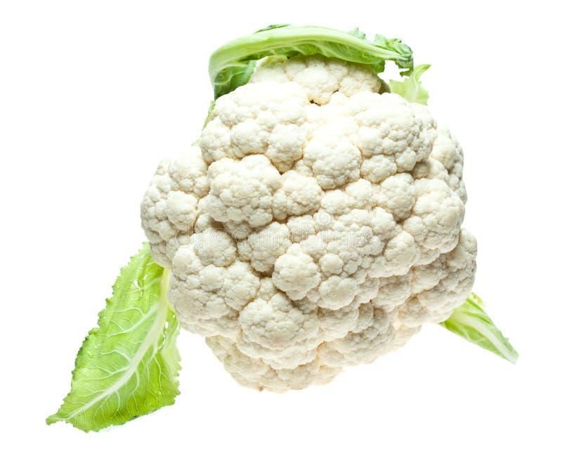Head Of Cauliflower Stock Photo