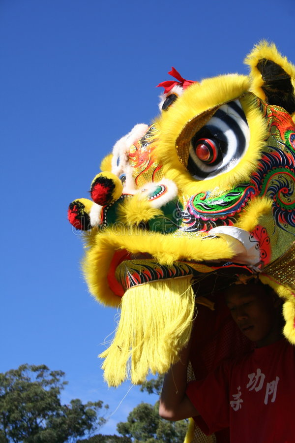 Download Head of Chinese dragon stock photo. Image of gold, decorated - 3411838