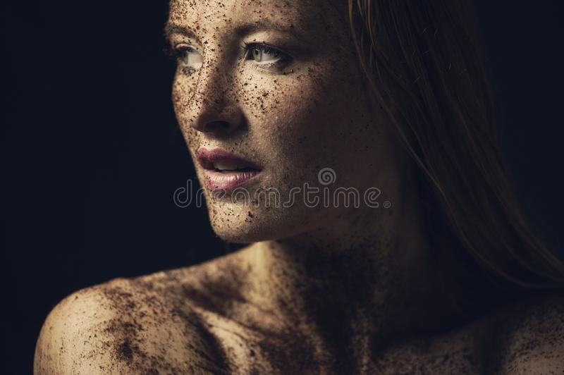 Head, Close Up, Human, Chest royalty free stock photos