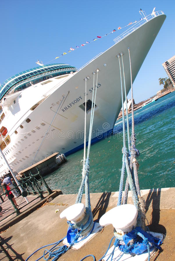 Download Head of a Cruise Ship editorial photography. Image of rhapsody - 27964717