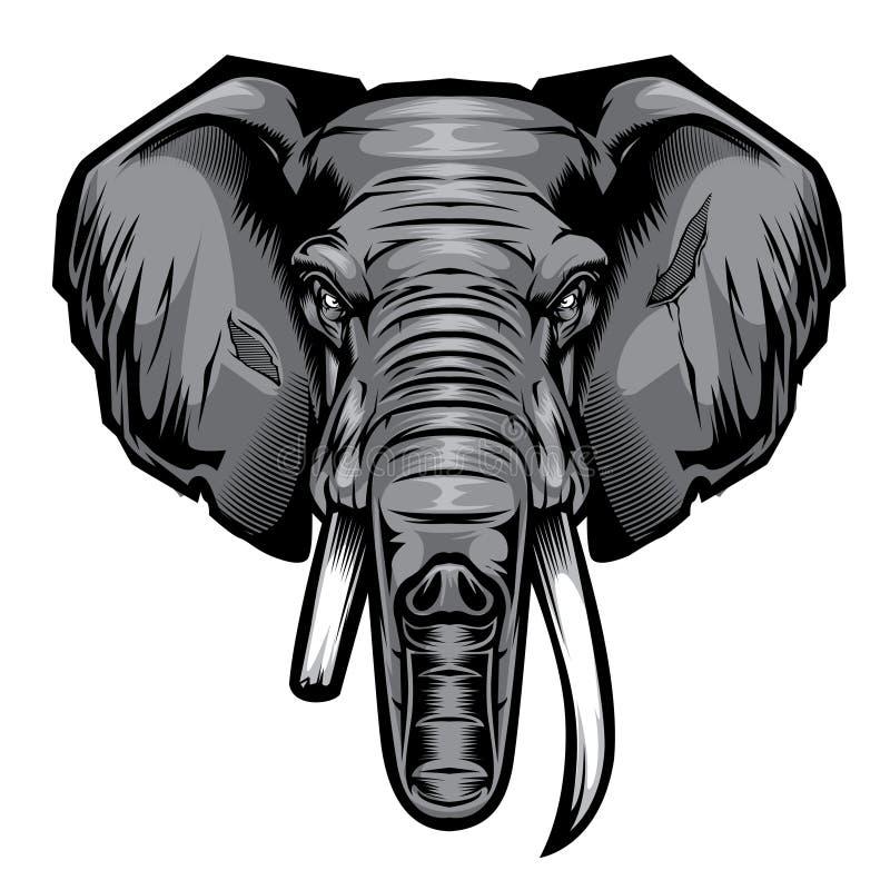 Angry Elephant Stock Illustrations – 555 Angry Elephant ...