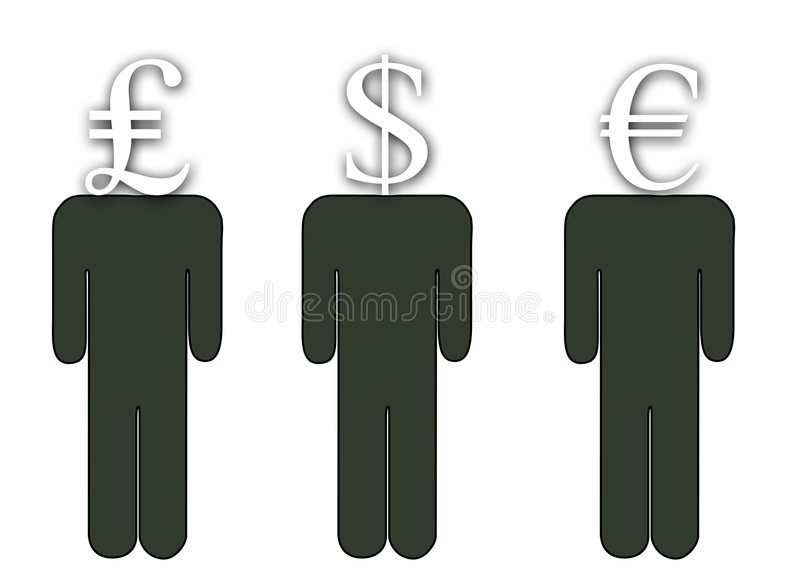 A Head For Finance stock image