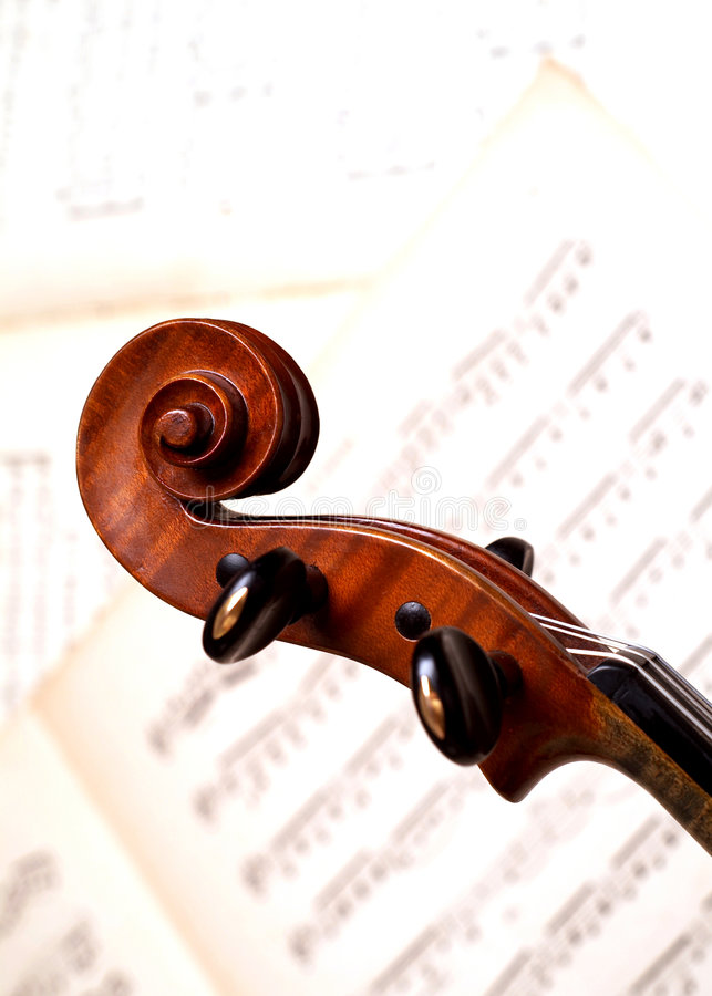 Download Head fiol fotografering för bildbyråer. Bild av underhållare - 523643