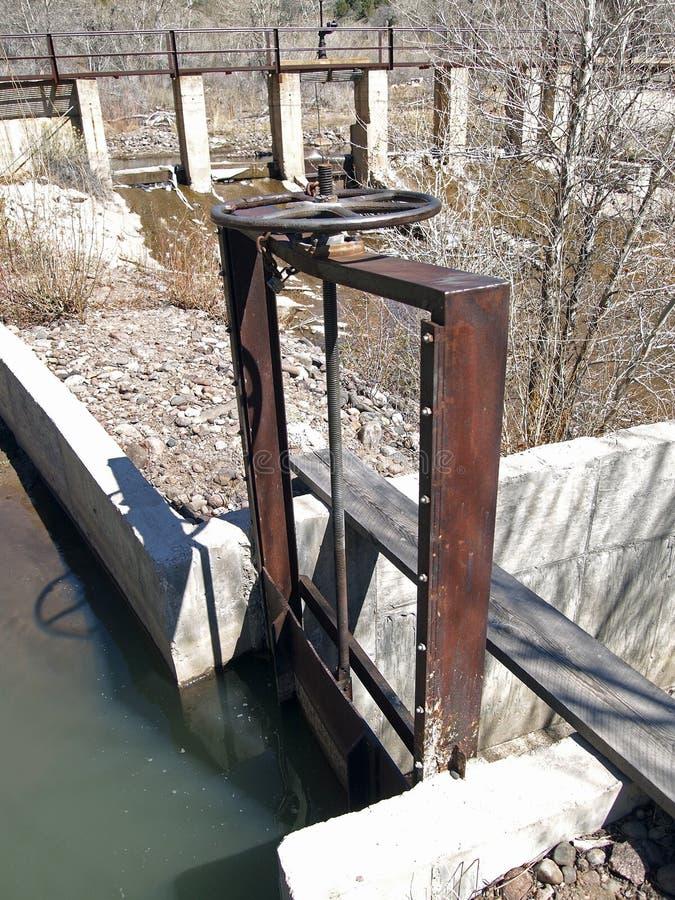 Head Gate Stock Image Image Of Steel Irrigation Flood